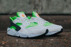 "Nike Air Huarache ""Action Green"" (Detailed Pics) - EU Kicks: Sneaker Magazine"