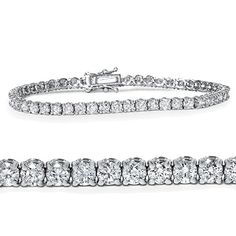 4ct Diamond Tennis Bracelet 14K White Gold. 30 Day Money Back Guarantee. Lifetime Warranty. Conflict Free Diamonds. Free Gift Box. Free Shipping.
