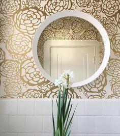 Petal Pusher (Gold) designed by Joy Cho of Oh Joy! for Hygge & West | Bathroom interior design