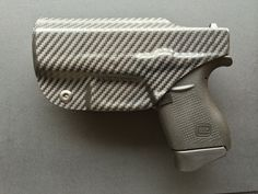 Glock 43 (9mm) Custom Holster - Carbon Fiber Black / IWB / CC / RHand / G43