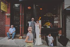 Brides: A Handcrafted Wedding at a Cool Brooklyn Restaurant