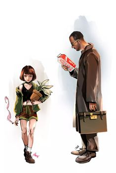 Leon: The Professional - Movie. Jean Reno, Leon The Professional Mathilda, The Professional Movie, Der Pate Poster, Leon Matilda, Mathilda Lando, Poses References, New Backgrounds, Film Serie