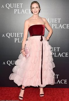 Emily Blunt and John Krasinski lead star-studded NYC premiere of A Quiet Place | Daily Mail Online