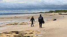 Travelling to Alnwick Beach in North-East England for a music video shoot