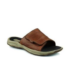 Boots and Shoes 179980: Sperry Outer Banks Slide (11/Dkbrown) Sts10770 -> BUY IT NOW ONLY: $64.99 on eBay!