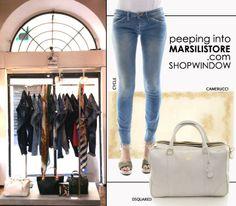 #MarsiliStore oggi in vetrina: #denim #cycle http://bit.ly/1nOasJG giovanili e sempre di tendenza, shoppingbag #DSquared http://bit.ly/1nOaqRV e un tocco di classe col foulard firmato #Camerucci http://bit.ly/1uhCQ6n. Pronte per l'#aperitivo del mercoledì? #loveshoppingonline