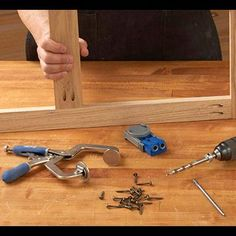 Frame with equipment