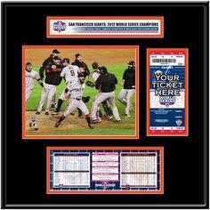 San Francisco Giants 2012 MLB World Series Bound Ticket Frame Jr. - $119.99