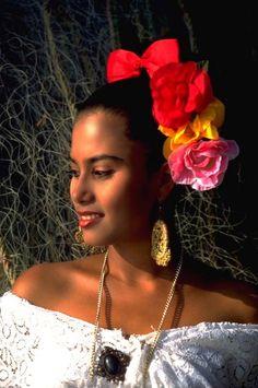 Belleza Jarocha, La Antigua, Veracruz  Beautiful Jarocha, La Antigua, Veracruz, Mexico♥