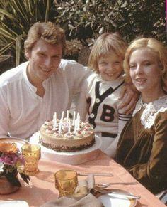 Johnny Hallyday, David et Sylvie