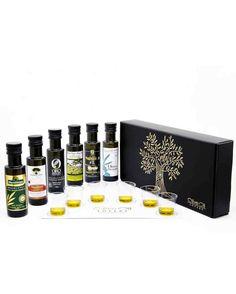 Hostess gift idea olive oil tasting kit
