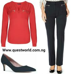 Back to work! #shirt size 10 12 #5500 #trousers size 10 16 #5500 #shoes size 6/39 #8000 www.questworld.com.ng