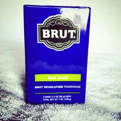 Brut Bar soap