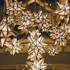 Morrocan star lights