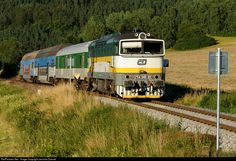 RailPictures.Net Photo: 754 045 3 Ceske Drahy CD 754 at Mezipotoci, Czech Republic by Jaroslav Dvorak