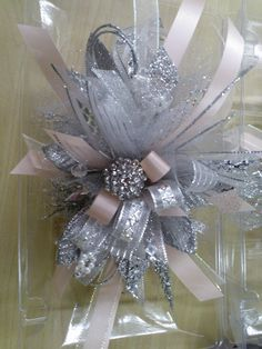 Homecoming or Prom wrist corsage Twisted Lily