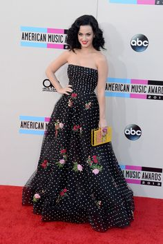 Katy Perry 2013 American Music Awards Arrivals