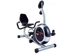 Bicicleta Ergométrica Magnética Houston BE50AC - c/ Sistema de Medição Hand Grip