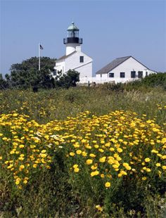 Old Point Loma Lighthouse  San Diego, CA
