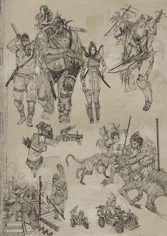 Various Sketches- Openanewworld
