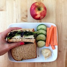 lunch #1 - healthy eating on a budget week 8 // cait's plate