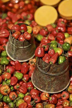 Chilli Pepper stall, Dashinkali Nepal
