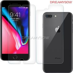 Front+Back 9H Tempered Glass For iPhone 6 6S 7 8 Plus X 5 5S SE 4 4S Protective Premium Screen Protector Cover Glass Guard Film -  #buy #sellers #seller #ebay #amazon #aliexpress #buynow #free #nowbuy #iphonexscreenprotector,