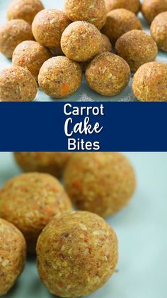 Get all the flavors of carrot cakes in these Carrot Cake Bites. Perfect for dessert or snacks, these no-bake carrot cake balls are super easy to prepare. Mini Desserts, Dessert Recipes, Hawaiian Desserts, Soft Baked Cookies, Mini Cookies, Clean Eating Snacks, Healthy Snacks, Baked Carrots, Cake Bites