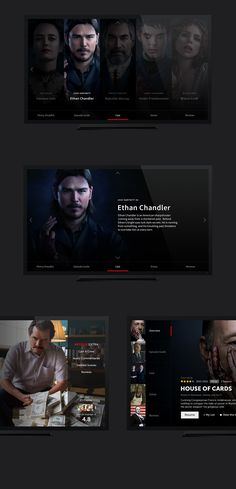 A few months ago I played around with a few ideas and design changes (small and big) for Netflix as an assignment regarding the TV-interface-department.