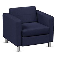 Atlantic Lounge Chair in Designer Upholstery - NBF Signature Series | National Business Furniture