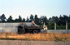dismantling of border fence in 1990