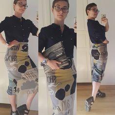 #look #lookbook #currentlywearing #silk #skirt #burberryprorsum #linen #shirt #laredoute #shoes #vagabond #raffia #clutch #annandarayata #style #styleiswhat #me #fashion #lookoftheday #outfitpost #ootd