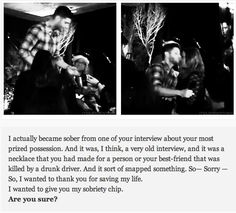 Supernatural. DCCon2014 GIFset --- WOW! In case the guys ever think they don't make a difference... here's proof that they do!