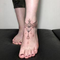 Dove Tattoos, Arrow Tattoos, Skull Tattoos, Leg Tattoos, Ankh Tattoo, Hamsa Hand Tattoo, Tattoo Bracelet, Mandala Tattoo, Ankle Tattoos For Women