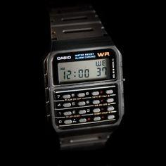 Montre Casio calculatrice style Walter White (Breaking Bad) - Boutique Vintage