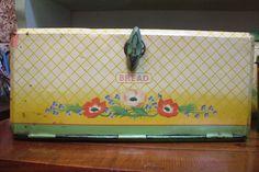 1940s bread bin by the vintage cottage, via Flickr