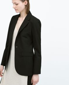 STRAIGHT CUT BLAZER-Blazers-Jacket-WOMAN | ZARA United States
