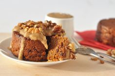 Ginger Pudding with gingerbread sauce! — Including Cake