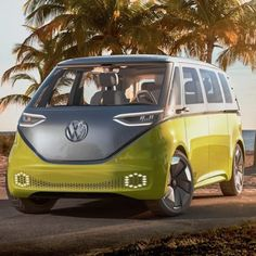 Volkswagen Brings Back the Beloved Microbus as an Electric Vehicle