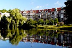 Park Kasprowicza in Szczecin-Poland Amazing Man, Poland, Trips, Spaces, 3d, Park, City, Nature, Travel