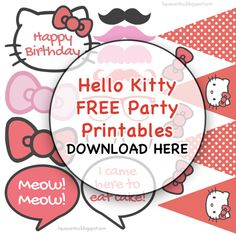 Lique's Antics: Hailey's Hello DIY Birthday Party at Shakey's [plus FREE Printable!]