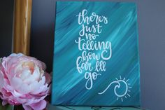 """8x10"""" Moana Inspired Painted Canvas"""