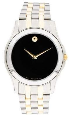 1e9c224bdbd Ladies Movado Kardelo SS watch - Black Dial - 0605479