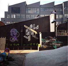 Side Street Studios Mural   Woodstock, Cape Town, South Africa
