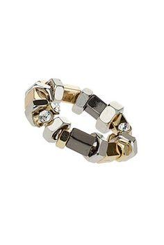 #topshop Bolt Stone Stretch Bracelet #nojewels