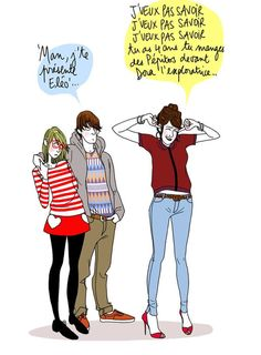 Margaux Motin Funny Drawings, Cool Drawings, French Illustration, Haha, Troll Face, Good Humor, Life Humor, Girls Be Like, Laugh Out Loud