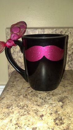Personalized Mustache Mug.