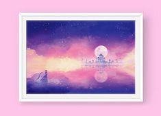Sailor Moon Poster: The Silver Millennium by SugarmintsArtstore