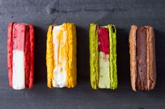 Payard's Macaron Ice Cream Sandwiches | Serious Eats OH YES PLEASE!!