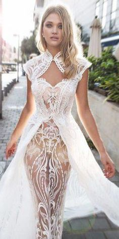 wedding dress modern Dimitrius Dalia Wedding Dresses For Modern Bride Backless Wedding, Sexy Wedding Dresses, Wedding Attire, Sexy Dresses, Bridal Dresses, Prom Dresses, Sexy Outfits, Dress Outfits, Casual Outfits